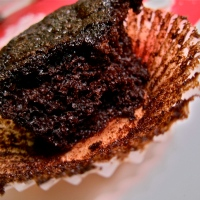 Moist Chocolate Cupcakes Heart Mascarpone Buttercream Frosting