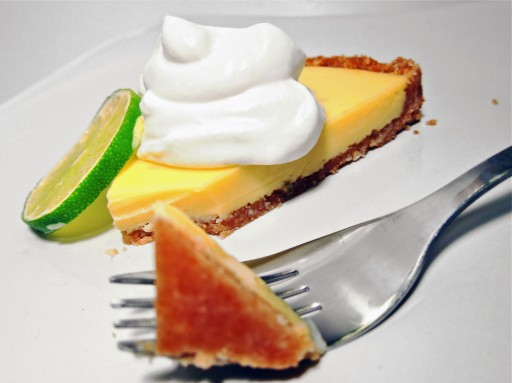 key lime tart coconut crust