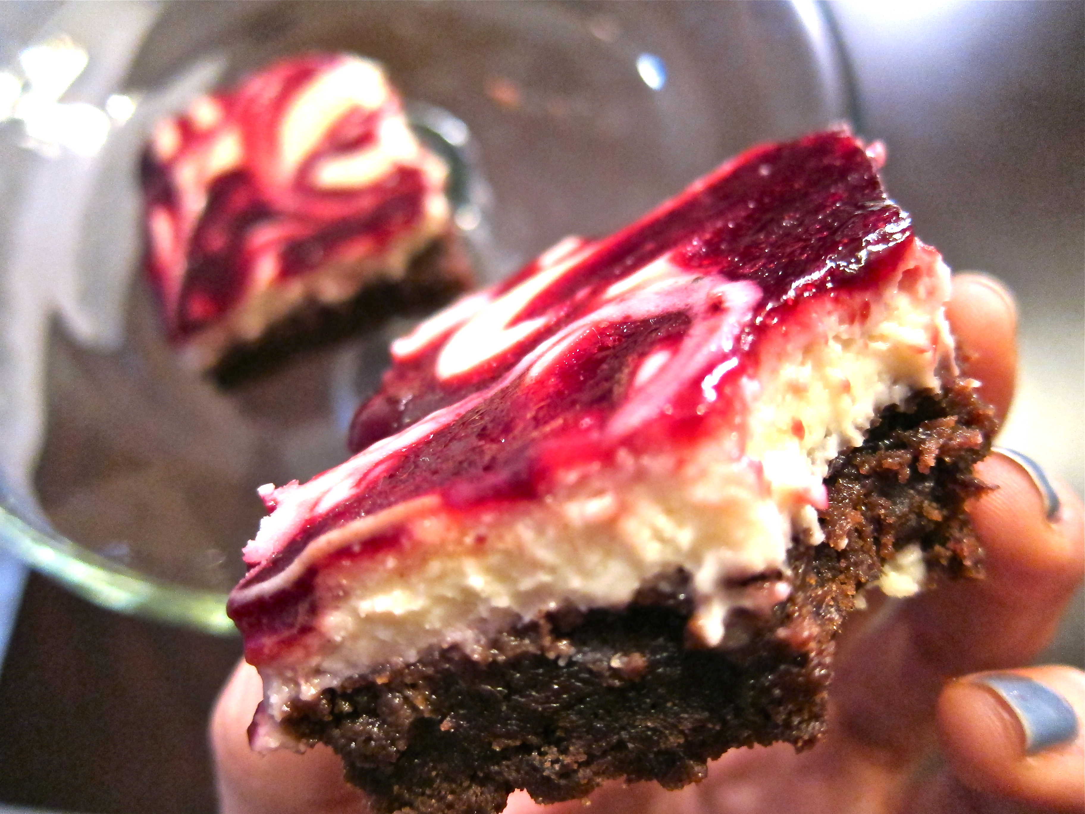 Black Cherry Swirl Cheesecake Brownies | A Colorado food, life and ...