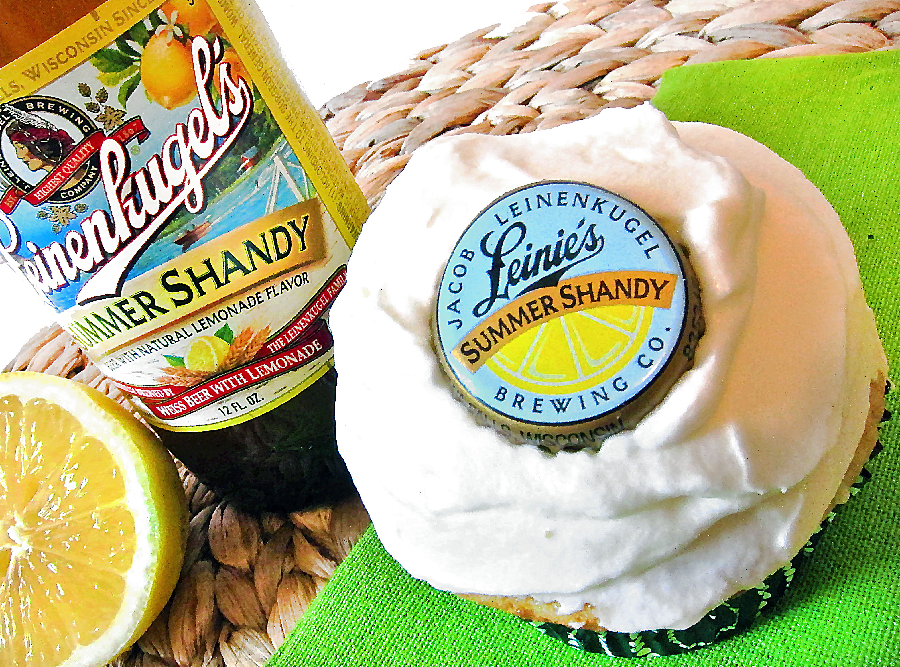 Summer Shandy Beer Cupcakes | A Colorado food, life and adventure blog ...