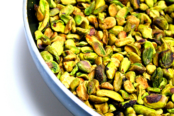 toffee pistachio