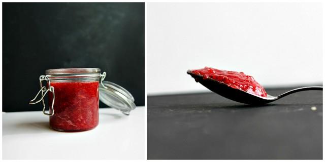 Easy One Jar Strawberry Rhubarb Jam3