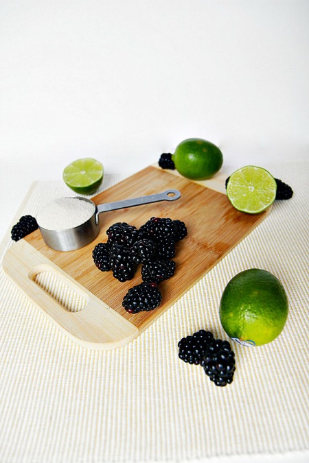fresh blackberry lime drink recipe hungrygems