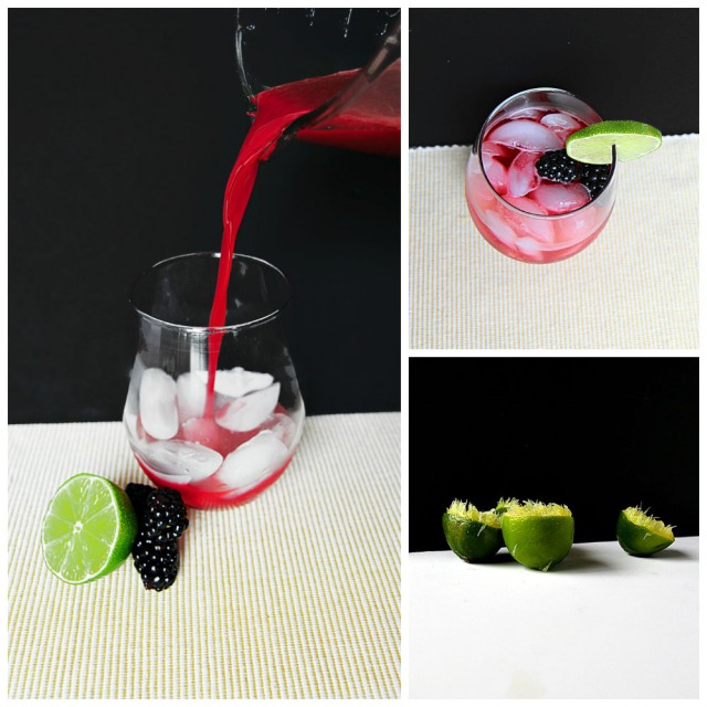 Fresh Blackberry Limeade Recipe Hungrygems