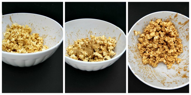 Better than homemade kettle corn or caramel corn- healthy peanut butter popcorn!