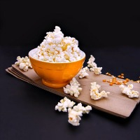 How to:  Homemade Air Popped Popcorn Using a Paper Bag