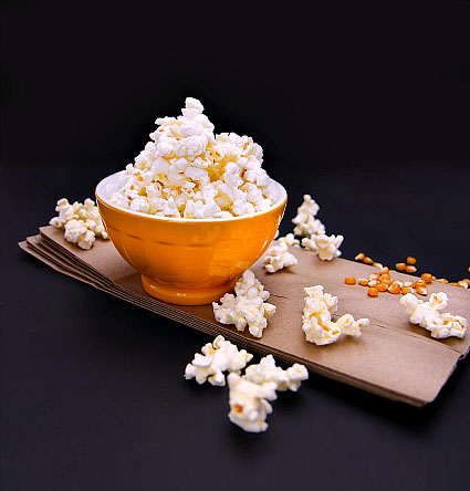 How to air pop corn at home paper bag microwave