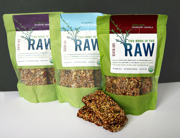 Two Moms in the Raw Granola Bar Flavors Review