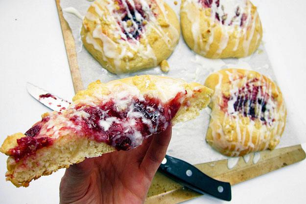 yeast raspberry danish recipe cheese