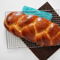 Heavy Whipping Cream Braided Yeast Bread