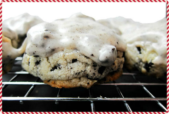 Oreo Cookie Mounds for Christmas Cookies