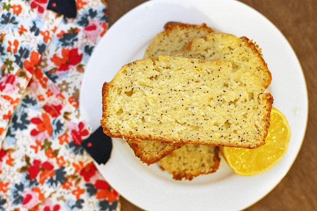 Easy Lemon Poppyseed Cake