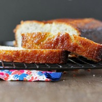 High Altitude Lemon Poppyseed Bread
