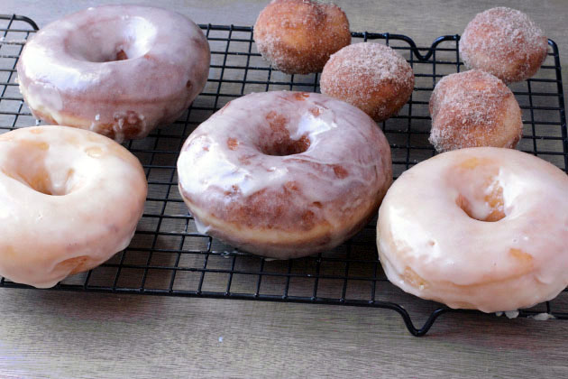 bakery style donuts from scratch