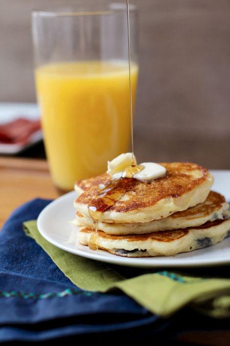 Butter Blueberry Lemon Pancake Recipe