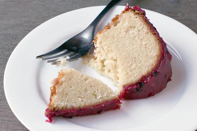 Light Pound Cake Bundt Cake