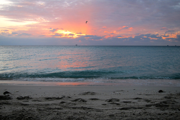 Miami Beach Florida Sunrise